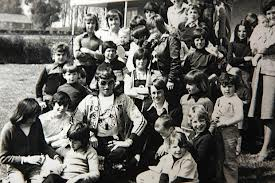 Sir Jimmy Savile at Jersey Children's Home he always denied visiting.