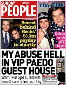 VIP paedo parties.