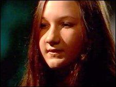 Teresa Cooper's daughter Sarah.
