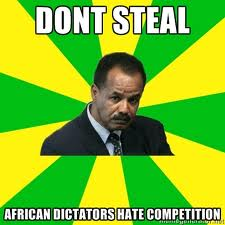 More money for African Dictators?