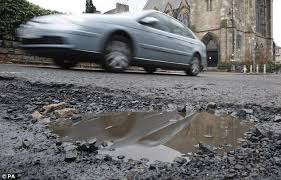 Britain's road system is crumbling.