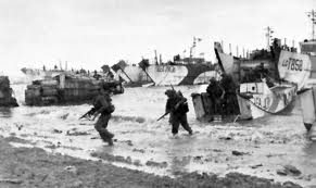 Was storming the beaches at Normandy more or less dangerous than getting a free WordPress blog?