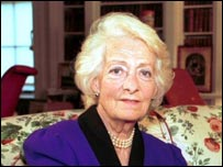 Frances Shand Kydd - the jewish mother of Princess Diana.
