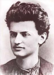 A young Leon Trotsky