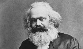 Karl Marx - Lenin and Trotsky were Marxists.