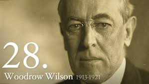 President Woodrow Wilson had Trotsky released by the British.