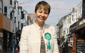 Caroline Lucas MP and her Green Party have supported the windmill rip off which costs every household in the UK £104 per year.