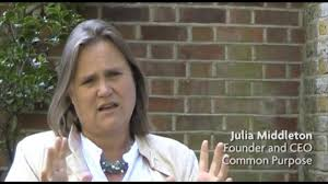 Julia Middleton of Comon Purpose - but who is behind her and why was she chosen?