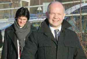 The rather freaky William Hague - he's certainly gay but is he a paedophile as well?