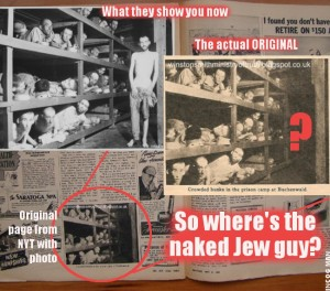 "Modern forensic techniques have exposed a lot of ""Holocaust"" photographic evidence as faked."