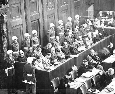 The Nuremberg Trials - the ultimate Soviet show trial held under the Allies.