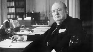 Sir Winston Churchill - realised too late that Soviet Russia was more of a threat than Nazi Germany.