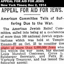 The jews have been waving the 6 million figure around since at least 1914 and maybe even earlier - the number seems to have a special signicance to them.