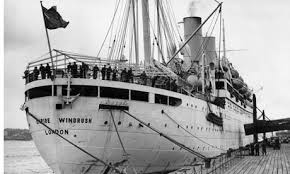 The Windrush arrives and the genocide of the British People starts.