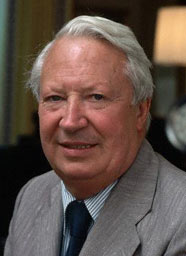 British Prime Minister Edward Heath - internationalist, degenerate, paedophile and traitor.