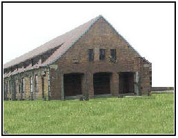Camp religious facilities made available on a rotating basis to every denomination for religious services.