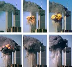 The Twin Towers attack on 11th September 2001