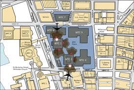 Diagram of 911 terrorist attacks.