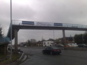 "How offensive is a ""Stoo Paedophile Rings"" banner? What sort of person would be offended enough to telephone the Police?"
