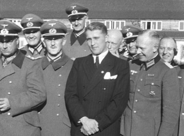 Wernher Von Braun in 1941.