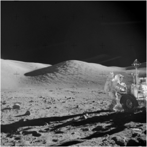 Another photo from Apollo Mission 17.