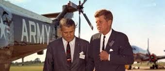 Werner von Braun with American President John F Kennedy.